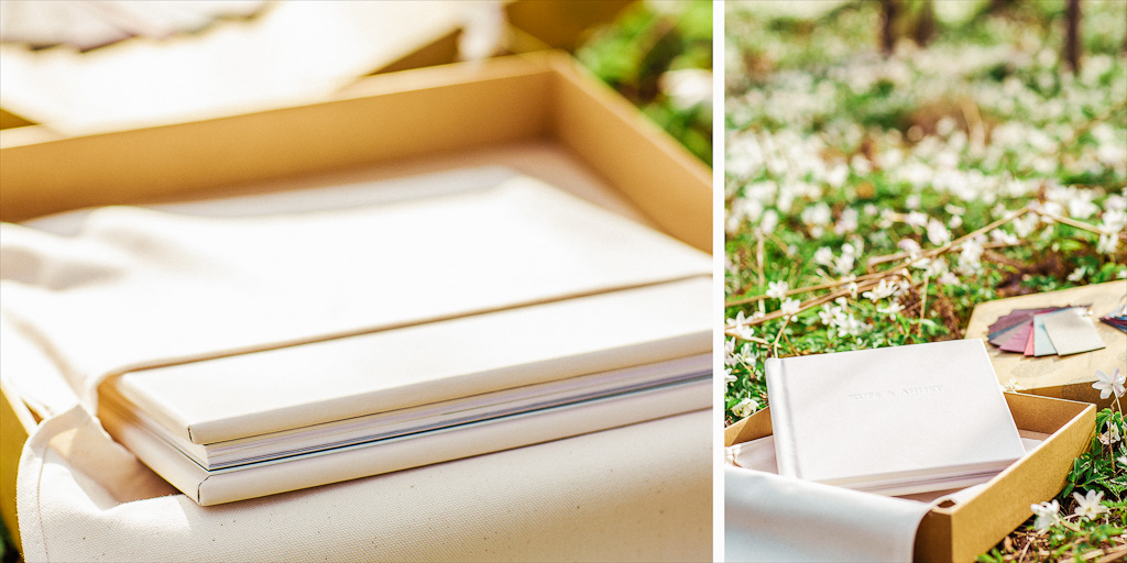 exclusive wedding album fine art white bröllopsalbum