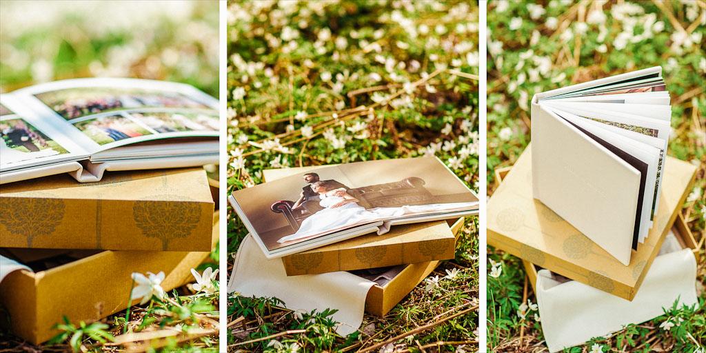 exclusive luxurious wedding album folio