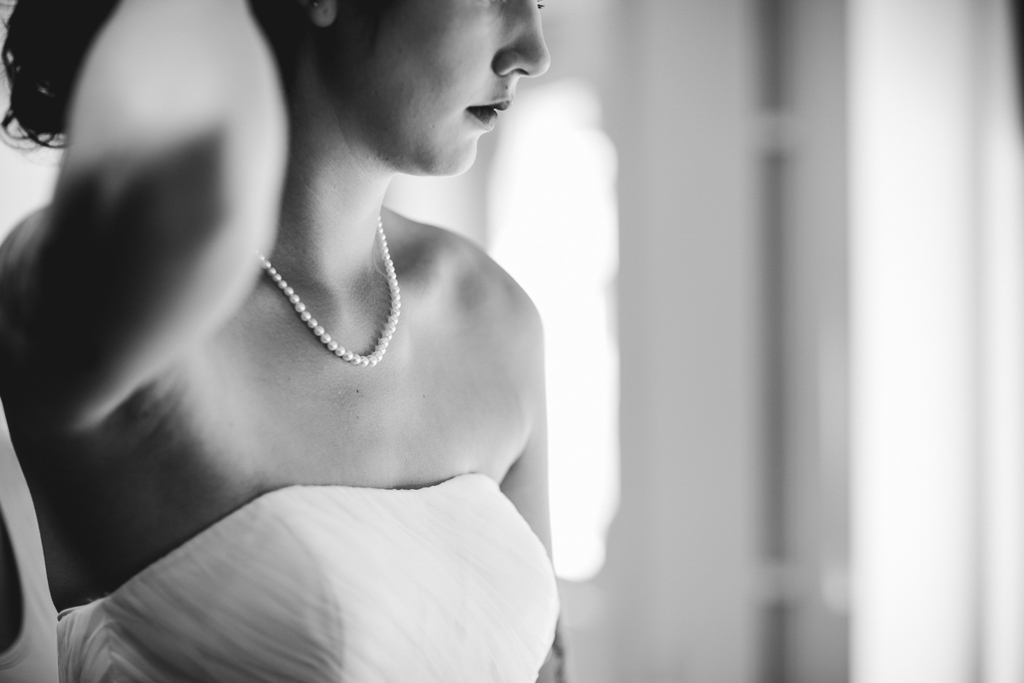 wedding pearl necklace