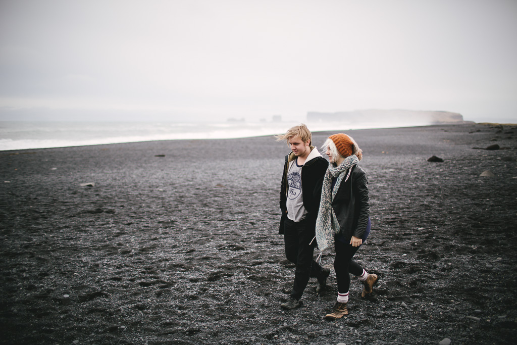 engagement session Reykjavik
