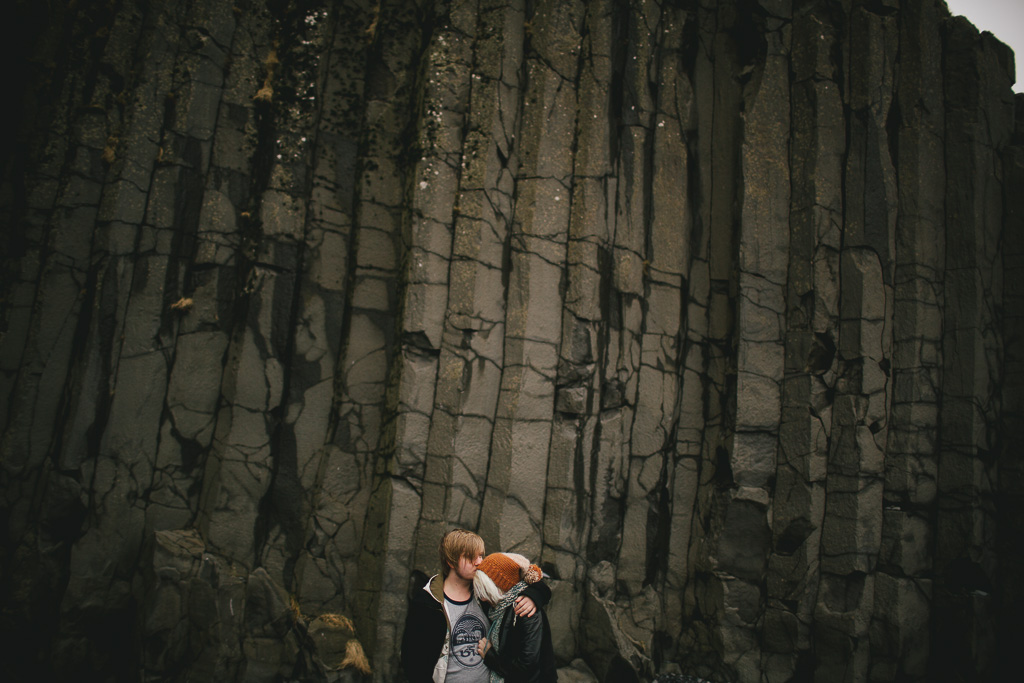 reynisdrangar engagement session