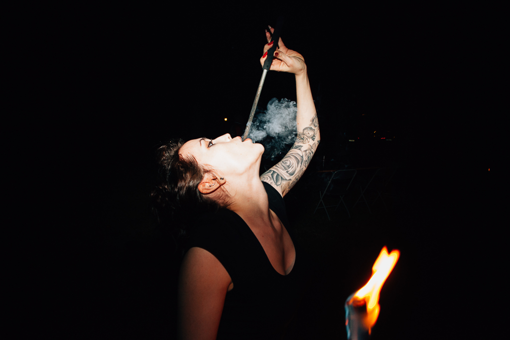 fire eater wedding